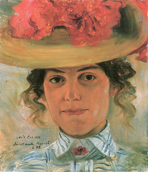 Portraits by Lovis Corinth
