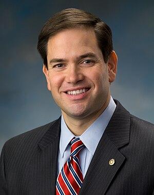English: Official portrait of US Senator Marco...