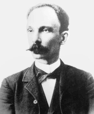 English: José Martí Photograph Restoration bas...