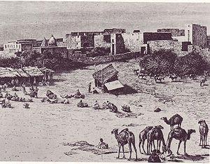 Mogadishu marketplace 1882
