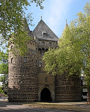 English: Neuss, Germany. Obertor, last preserv...