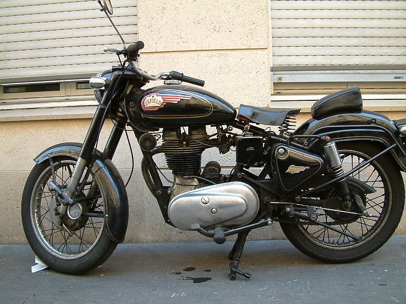 Royal Enfield Bullet Motorbike