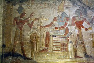 Temple of Osiris at Abydos