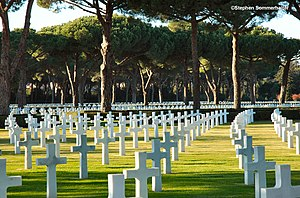 English: Sicily-Rome American military Cemeter...