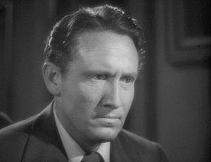 This screenshot shows Spencer Tracy as Dr. Jek...