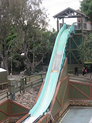 Vikings Revenge Flume Ride at Sea World - Fina...