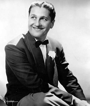 Publicity photo of musician Lawrence Welk.