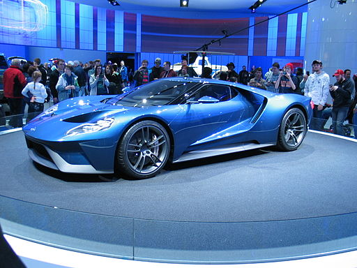 2017 Ford GT front