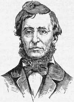 English: Portrait drawing of Henry David Thoreau