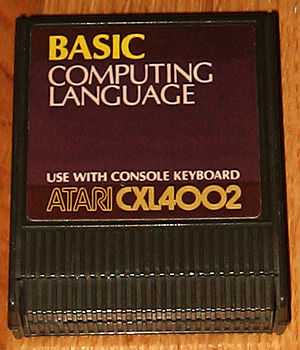 Cartridge with BASIC computing language for At...