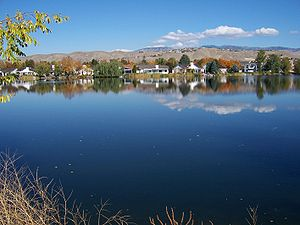 Lake Harbor in Northwest Boise