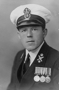 CPO Claude Choules in uniform (1936)