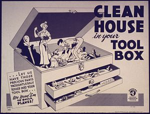 Clean House In Your Tool Box - NARA - 533971