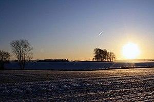 English: Early morning Sun Early morning looki...