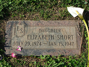 English: The grave of Elizabeth Short, better ...