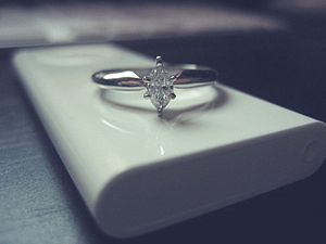 This is the new engagement ring Bryan surprise...