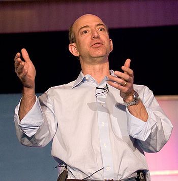 Amazon founder Jeff Bezos starts his High Orde...