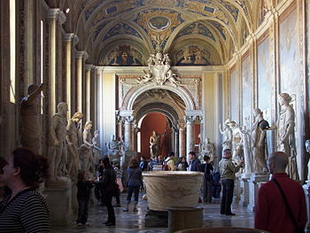 Museo Pio-Clementino in the Vatican Museums.