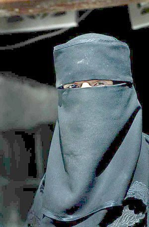 Muslim woman in Yemen.