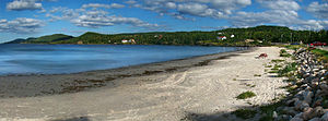 English: Eastport Beach, Eastport Peninsula, C...