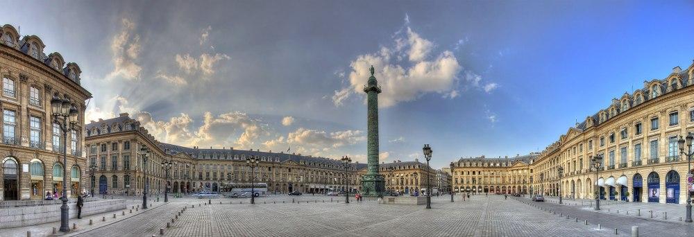 Place Vendome - Paris, France - April 20, 2011