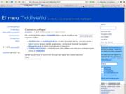TiddlyWiki en catalán