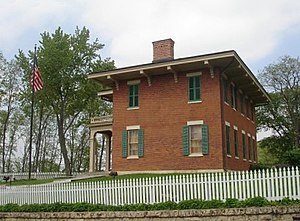 The home of President U.S. Grant in Galena, Il...