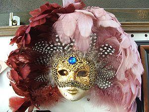 A Venziana mask from Verona, Italy.
