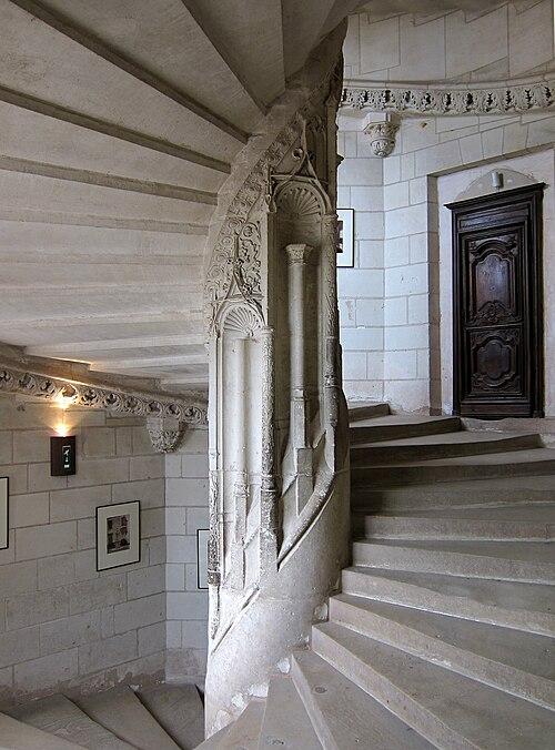 Chaumont escalier