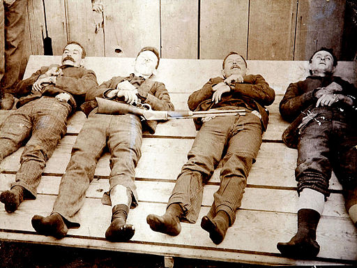 Dalton Gang memento mori 1892