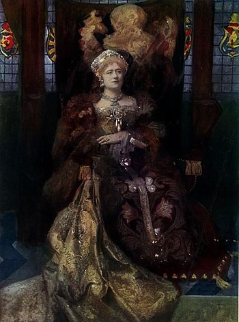 Dame Ellen Terry as Catherine of Aragon
