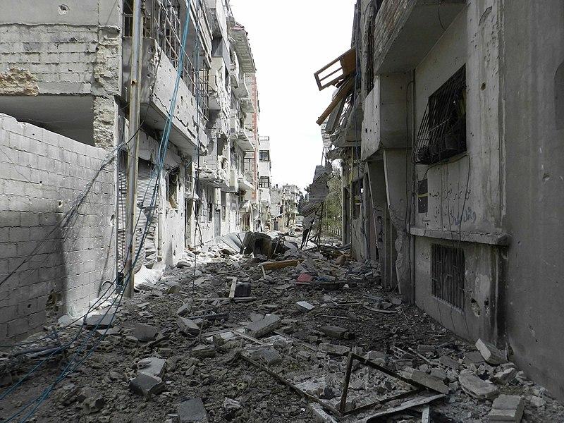 File:Destruction in Homs (4).jpg