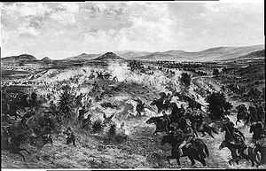 Español: La Batalla de Miahuatlán tuvo lugar e...