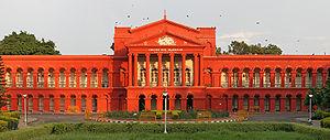 English: Karnataka High Court, in Bangalore, I...