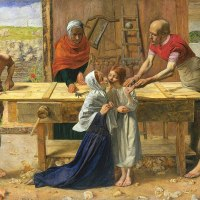 """Christ in the House of His Parents"" by John Everett Millais"