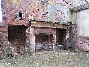 "English: Kitchens, Witley Court ""Behind t..."