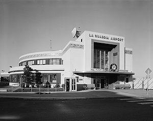 Survey photo of LaGuardia Airport's Marine Air...