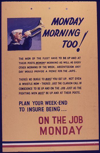 Monday Morning too^ On the Job Monday - NARA -...