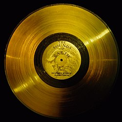 Voyager's Golden Turntable!