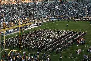 English: The University of Notre Dame Marching...