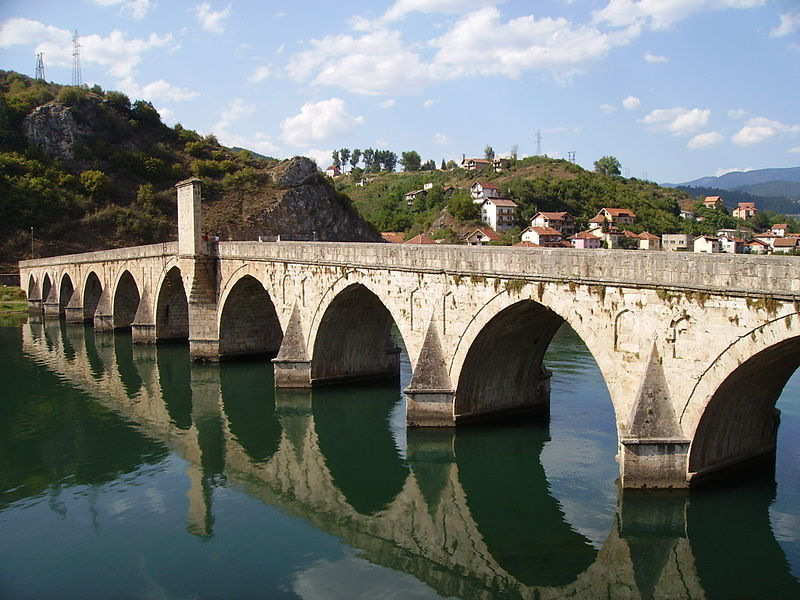 File:Visegrad Drina Bridge 1.jpg