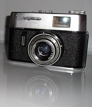 Voigtländer camera, Vitoret F, Lanthar 2.8/50,...