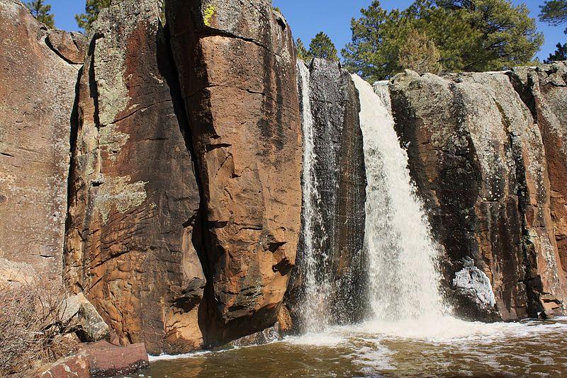 Keyhole Sink Waterfall