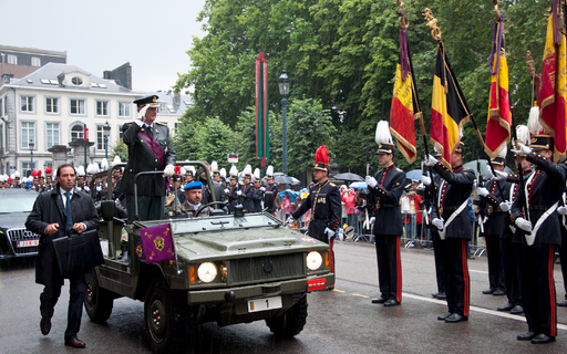 21 juli 2011 Defilé Koning Albert II
