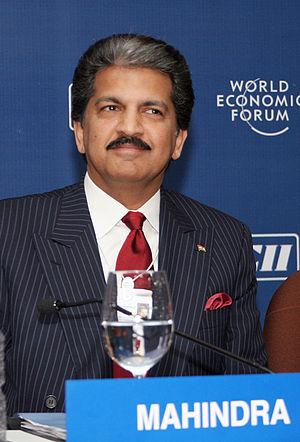 Mahindra Group V-C Anand Mahindra