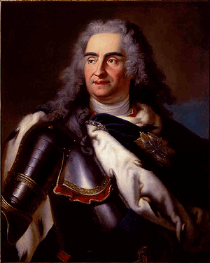August II the Strong KIng of Poland
