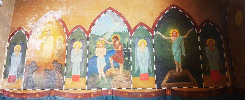 File:Châteauneuf-du-Faou 23 Eglise paroissiale Fresque de Sérusier.jpg
