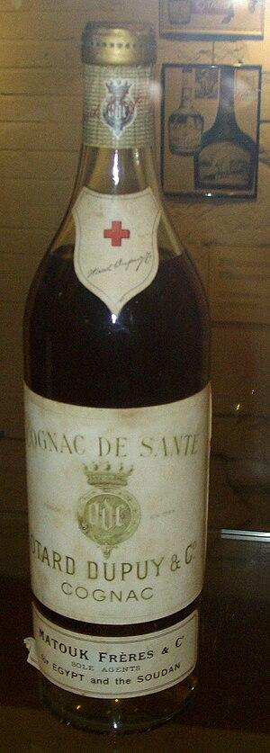 """English: Ottard """"cognac santé"""" Franç..."""