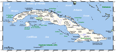 Geography Of Cuba Wikipedia