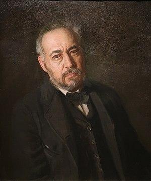 Self portrait of Thomas Eakins